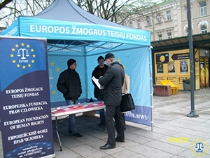 EFHR took part in the International Day Against Fascism and Antisemitism