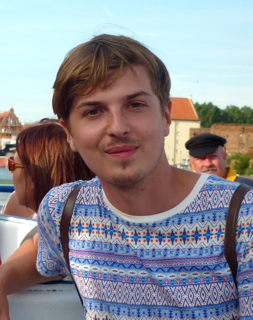 Tomasz Prądzyński — an intern in the EFHR