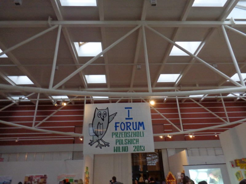 EFHR at the premier Forum for Polish Kindergartens in Vilnius