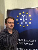New intern in EFHR