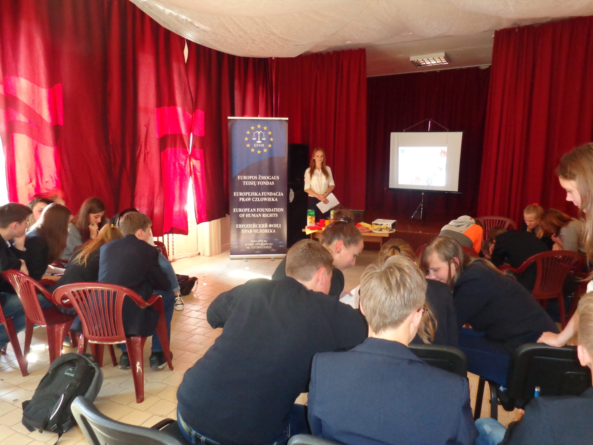 EFHR in Polish and Lithuanian schools