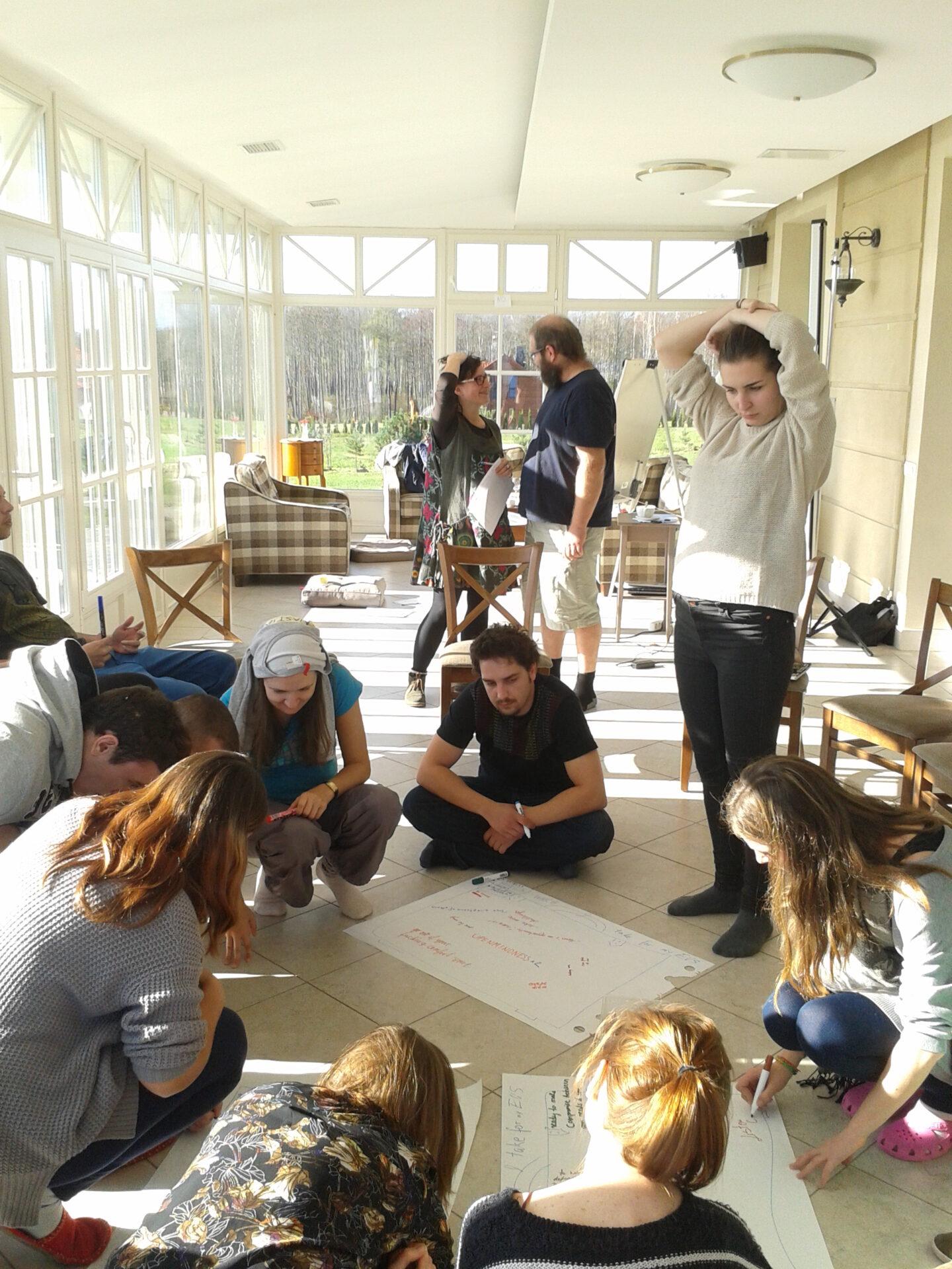 Training for new European Voluntary Service volunteers