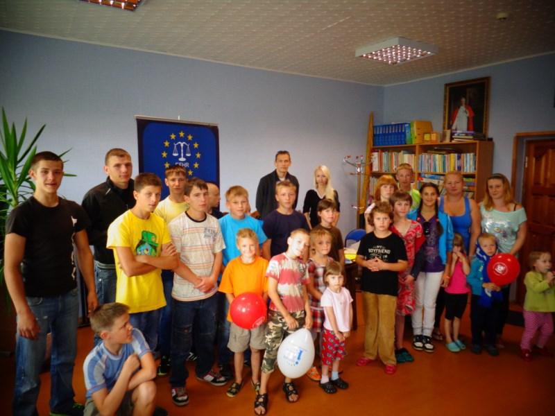 EFHR helps children from orphanages