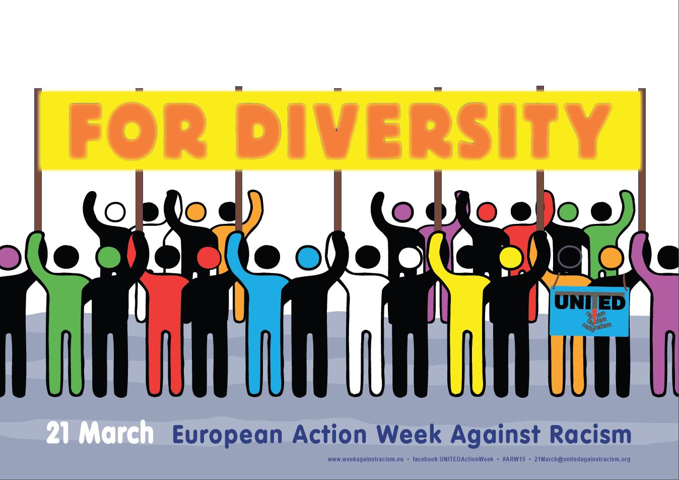 European Action Week Against Racism – join us!