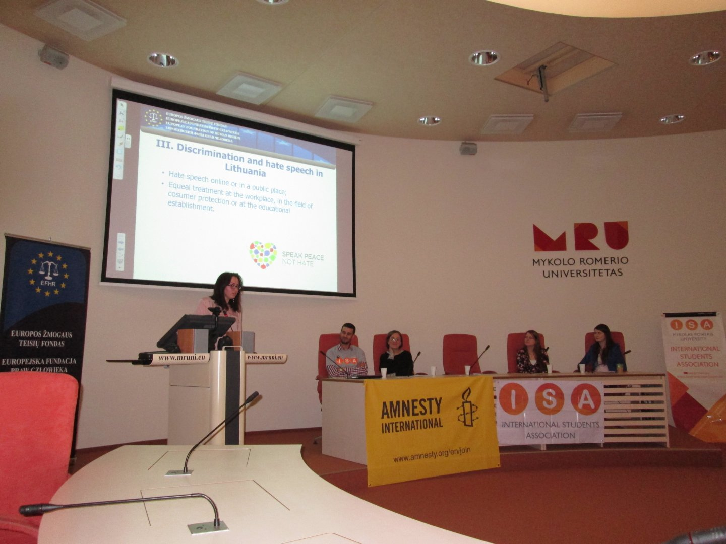European Day of Action Against Racism at M. Romerio University