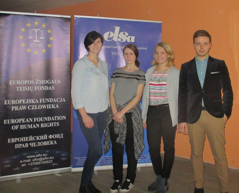 EFHR commemorated International Day Against Fascism and Anti-Semitism at Vilnius University
