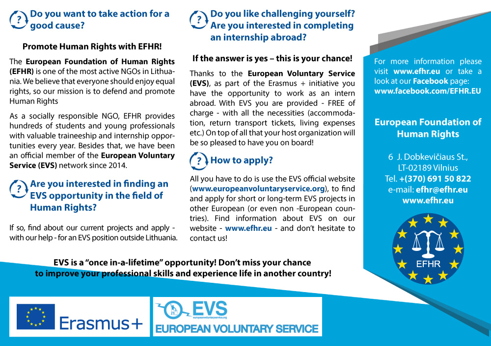 European Voluntary Service offers amazing opportunities!