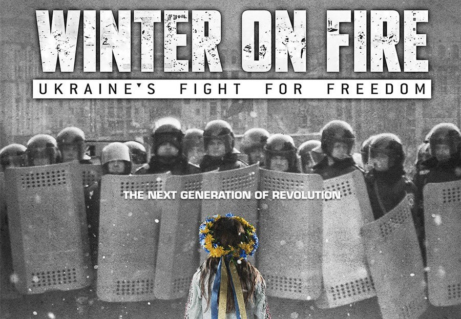 Screening of Winter on Fire: Ukraine's Fight for Freedom at Beepart Centre