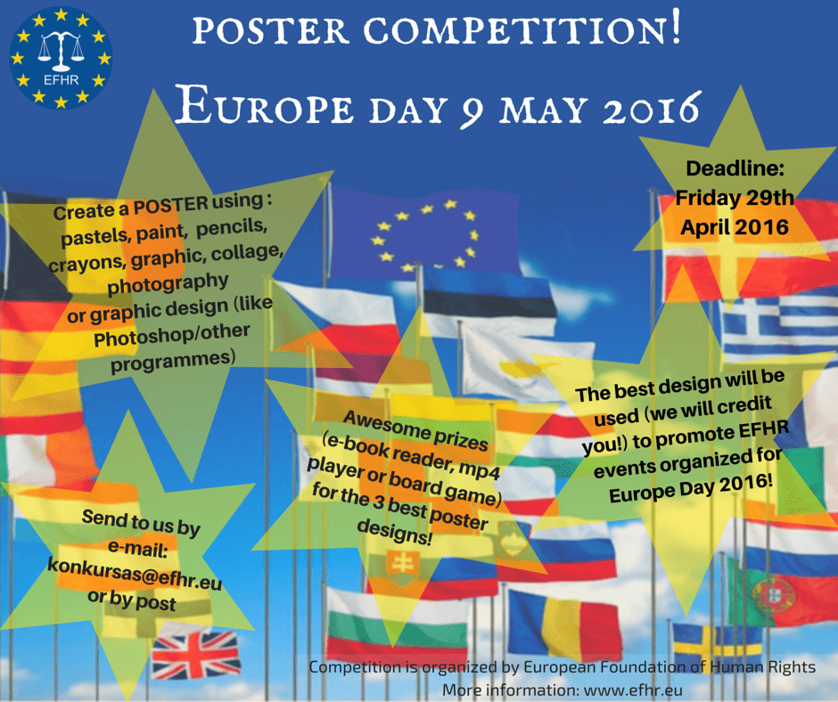 Europe Day – Poster Competition